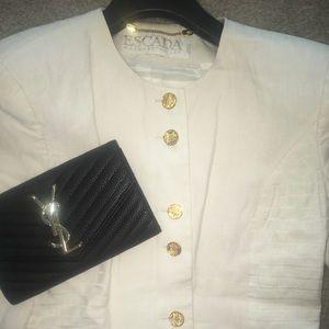 ESCADA blazer jacket 100% linen